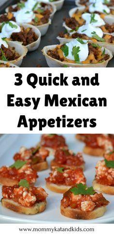 My family LOVES Mexican food so we jump at the chance to make Mexican food for dinner. I found a way to switch up our Mexican food menu by adding these easy and delicious Mexican appetizers. Theyre unique and kid approved. Dont forget to save this to your food board. Recipe : http://ift.tt/1hGiZgA And @ItsNutella  http://ift.tt/2v8iUYWMy family LOVES Mexi