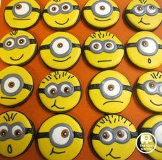 Minion cookies!  Love!