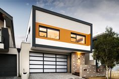 house by Swell Homes, with brick veneer exterior