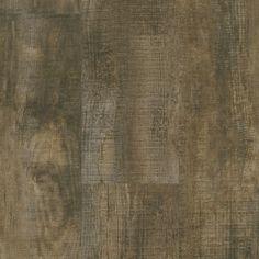 Armstrong Vivero Homespun Harmony Rugged Brown Integrilock Luxury Vinyl Flooring 8.62 x 47.62