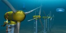 100-Foot Subsea Turbine Successfully Installed at World's First Tidal Farm Off the Coast of Scotland
