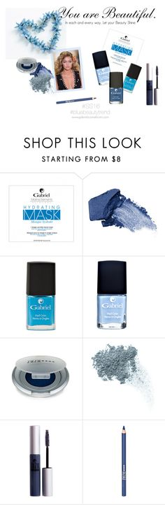 """Blue Beauty Trend SS16"" by jeanamelia on Polyvore featuring beauty, Urban Decay, INC International Concepts, Bare Escentuals and ZuZu Luxe"