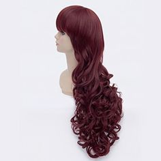 Amybria Damen 80cm Dark Red Lange Lockig Hitzebestandigkeit Partei-Kostum Anime Cosplay Perucke - See more at: http://schonheit.florentt.com/beauty/amybria-damen-80cm-dark-red-lange-lockig-hitzebestandigkeit-parteikostum-anime-cosplay-perucke-de/#sthash.ec3ywzbD.dpuf