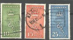D A N M A R K - MICHEL nr 178-80 - (4122) oppføring i Danmark,Europa,Frimerker kategorien på eBid Norge