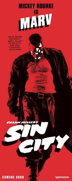 Sin City ... Graphic novel visual love.... That & 300.