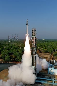 The Images From India's First Ever Space Shuttle Launch
