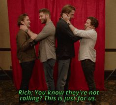 Jensen Ackles — nothingidputbeforeyou: Favorite moments from...Jensen's laugh. I love it!
