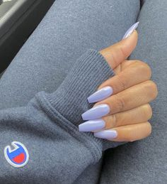 Acrylic Nails also known as false nails or fake nails are very popular between nail enthusiasts and nail lovers like ourselves. The neat thing about acrylic nails is the fact that you can put them over your natural nails with little to no harm. Perfect Nails, Gorgeous Nails, Pretty Nails, Best Acrylic Nails, Summer Acrylic Nails, Coffin Nails Designs Summer, Purple Nail Designs, Gel Nail Designs, Summer Nails