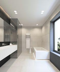Badgestaltung mit indirekter Beleuchtung