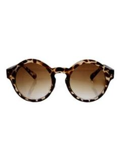 Sunglasses | Leopard Print | Round Frame | Circular Sunglasses | Brown Shades | Round Glasses | Fashion Accessory | Style Fiesta