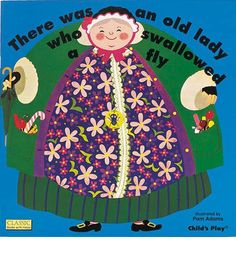 Forty years after publication this much-loved classic is as popular as ever. Ingenious die-cut holes bring this well-known nursery rhyme to life, and Pam Adams' illustrations lend humour and vibrancy to the proceedings.