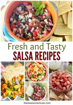 It's always a good time for fresh salsa. It's the most versatile of appetizer and snack recipes. Appetizer Recipes, Snack Recipes, Dinner Recipes, Cooking Recipes, Mexican Appetizers, Traditional Mexican Salsa Recipe, Mexican Salsa Recipes, Mexican Dishes, Healthy Snacks