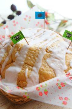 簡単!【捏ねない&レンジとボウルで!】ドーム黒糖ちぎりパン 〜富士山パン〜   珍獣ママ オフィシャルブログ「珍獣ママのごはん。」Powered by Ameba
