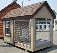 Kastle Jr - Capitol Sheds Dog Kennels For Sale, Diy Dog Kennel, Kennel Ideas, Winter Dog House, Log Projects, Puppy Care, Dog Houses, Dog Stuff, Hair Ideas