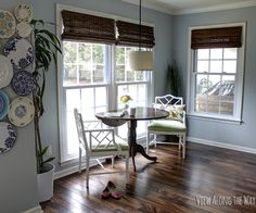 Benjamin Moore Brittany Blue Breakfast Nook Paint | Involving Color Paint Color Blog