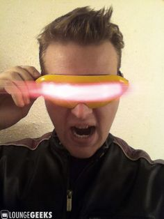 Make your own cyclops glasses