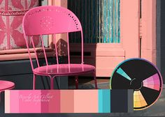Beverly Ash Gilbert: Color Inspiration - Pink Chairs in Holland