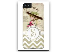 Personalized Cell Phone Case. Elegant by TheGirlyGirlCaseShop