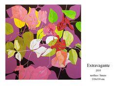 Santiago Gargallo EXTRAVAGANTE   2010    acrílico /lienzo      116x116 cm  Almerian artist
