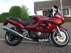Steve's pride and job, a Suzuki GSXF 750