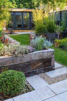 Back Garden Design, Garden Design Plans, Big Garden, Backyard Garden Design, Lawn And Garden, Small Garden Big Ideas, Back Garden Ideas, Small Garden Landscape Design, Small Garden Inspiration