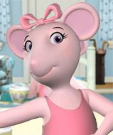 Angelina Ballerina website- games, coloring, puzzles, activities and short videos