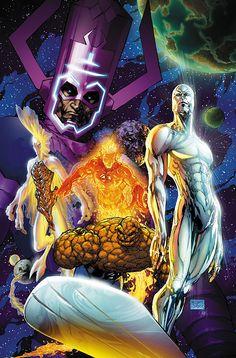 Fantastic Four - Michael Turner