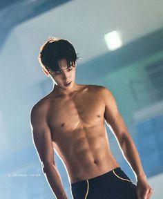 Nam Joohyuk: Sure this isn't sinful wUt Nam Joo Hyuk Abs, Nam Joo Hyuk Tumblr, Jong Hyuk, Lee Sung Kyung, Korean Men, Korean Actors, Park Seo Joon Abs, Kwak Dong Yeon, Joon Hyung