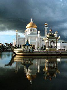 Big mosque of Brunei
