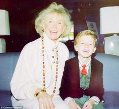 With grandson Ryan