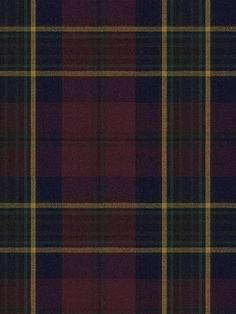 DecoratorsBest - Detail1 - LCF13568F - REGENT TARTAN - BURGUNDY - Fabrics - DecoratorsBest