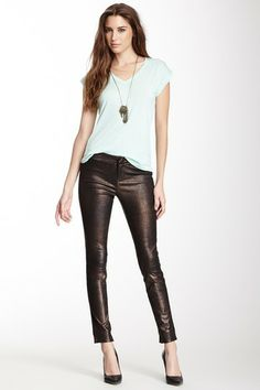 Bette Leather Pant by J Brand on @HauteLook
