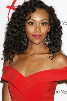 The 45th Daytime Emmy Awards -Mishael Morgan plays the role of Hilary Curtis on Young & The Restless on CBS Network. She has been Pre-Nominated for Outstanding Supporting Actress In A Drama Series.
