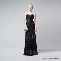 7a49a1c5781 Discover Alexander McQueen new season prints for Autumn Winter 2014