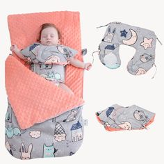 Baby Sleeping Bag Cartoon Animal Cotton Baby Stroller Sleeping Bag Wheelchair Envelopes For Newborn Baby Wrap Blanket, Baby Blankets, Cheap Sleeping Bags, Newborn Sleeping Bag, Swaddle Wrap, Sleep Sacks, Baby Gender, Baby Wraps, Ornaments