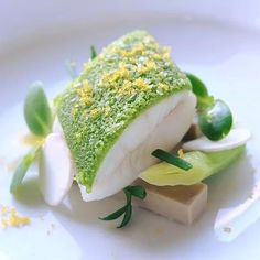 Atlantic Dover Sole poached in champagne baby leek, oyster…