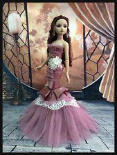 "PKPP-647 Tonner Ellowyne Princess Evening Mermaid Gown dress outfit dolls 16"""