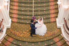 Orlando wedding photographer captures Beauty and the Beast themed Disney wedding at the pavilion and grand floridian