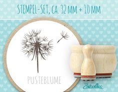 Pusteblume - Stempel-Set, ca. 32mm + 10mm