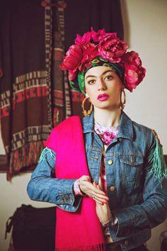 FRIDOMODA  Photographer - Anastasia Kashina.   Style & make up - Kristina Melnik.  Model -  Kristina Melnik.