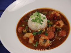 Izetta's Southern Cooking: CREOLE SHRIMP & ANDOUILLE SAUSAGE GUMBO