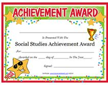 Blank Certificate Templates For Students  Star Certificate