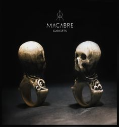 From now on 'Veil' ring from Macabre Gadgets is avaliable on notjustalabel.com & redmintshop.com! Shop now! https://www.facebook.com/MacabreGadgets #macabregadgets #veil #fashion #jewelry #skull