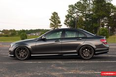Mercedes-Benz C-Class (W204) on Vossen Wheels: Photo Collection | The World Of Mercedes-Benz AMG