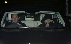 December 18 2015 - Jose Mourinho leaves the Chelsea training ground after being relieved of his duties
