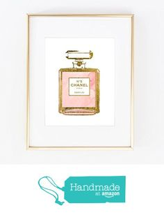 Real Gold Foil COCO Chanel Perfume Bottle Waterclor hand paineted Wall Art Print Color Girl Room Modern Vanity Fashion Vogue poster 0310 from Artlantida https://www.amazon.com/dp/B016V992KM/ref=hnd_sw_r_pi_dp_KIjuxbPX6263C #handmadeatamazon