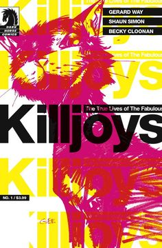 Dark Horse Unveils Gerard Way's Finalized 'Killjoys' #1 Cover - ComicsAlliance | Comic book culture, news, humor, commentary, and reviews