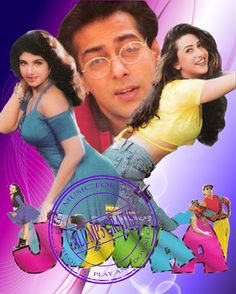 Judwaa Hindi in HD - Einthusan Hindi Bollywood Movies, Bollywood Posters, Bollywood Actors, Saif Ali Khan, Salman Khan, Anu Malik, Hindi Movies Online, Karisma Kapoor, Masha And The Bear
