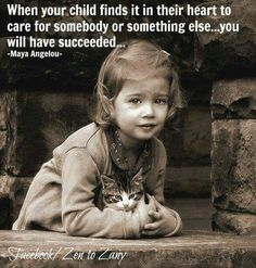 Your child cares