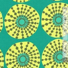 Lark Sun Glow Jade. Fabric by Amy Butler for Westminster Fibers. Available at Quilt Expressions.